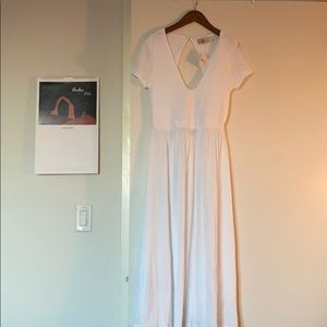 FreePeople openback midi dress